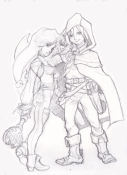 Final Fantasy 9: Cloak and Dagger by The-Z
