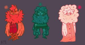 Draw-to-Adopts : Set 1 - CLOSED by Ink-Jam
