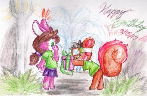 A lucky feet Birthday by Thwill