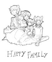Happy Family by MaggieSoup