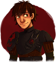HTTYD2: Hiccup Sketch by Auro-Cyanide