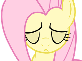 Sad Fluttershy Vector by AppleBirdie