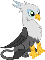 Silver Feather - MLP Vector by DoctorWhoovezBH