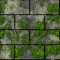 Mossy Wall by LoN-Kamikaze