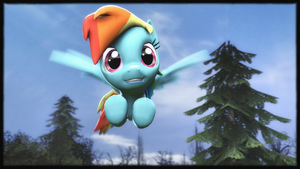 [SFM] Rainbow Dash by valdemar1251