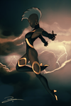 Storm Pinup by Durandus