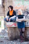 Android 18 / Android 17 by cloeth
