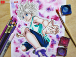 Killua Zoldyck || Hunter x Hunter (2011) by HideakiArtReal