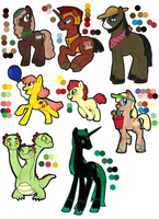 Wolf-wishes MLP:FIM Adoptable Commission. by Kayla-san