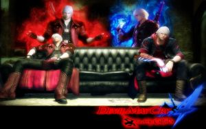 Devil May Cry 4 Wallpaper by CaWoDa