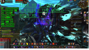 World of warcraft World boss dead (old picture ) by darknessMohag