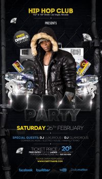 Urban Party Flyer by outlawv15