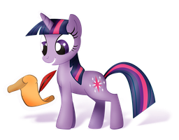 Twilight Sparkle (Alpha Channel) by nicolaykoriagin