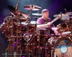 Neil Peart Time Machine Tour by rebelx