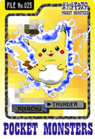 Pikachu Used Thunder by Axel-Comics