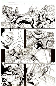 SPIDERMAN UNLIMITED issue #9 page #10 by Ray-Snyder