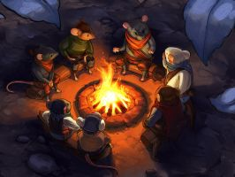 Campfire by Detail