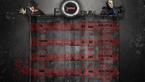 Horror forum templates by curtisblade
