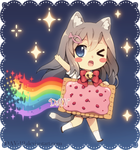 Chibi Nyan Cat by DAV-19