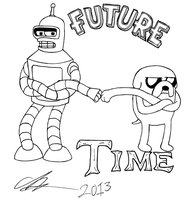 Future Time! by KingVego