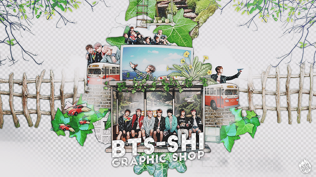 170315 // BTS SHI GRAPHIC SHOP by CHAEY04