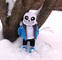 Snowdin Sans by Skeleion