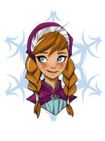 Frozen-Anna by Shakav088
