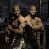 No messing with the Darius twins by homoeros