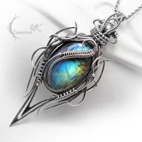 NACTARILL - Silver and Labradorite. by LUNARIEEN