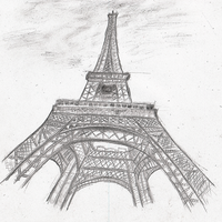 Eiffel Tower by KnufflPuffl