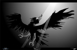 Bird Of Darkness - Kagegier by ZBot9000