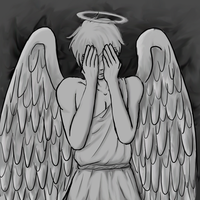 weeping britannia angel by MarlieNicole