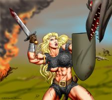 Eowyn - Middle Earth Muscle by DavidCMatthews