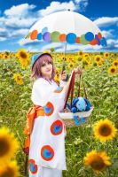 Kobato - Sunflower by Seiya-teno