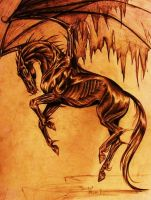 Thestral by AnnaNicola