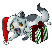 Lime +Xmas gift+ by ninetail-fox
