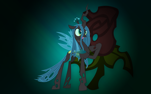 MLP - Queen Chrysalis (w/ Cutie Mark) by JoeHellser
