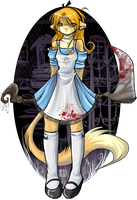 Alice in Ponderland by Karoish