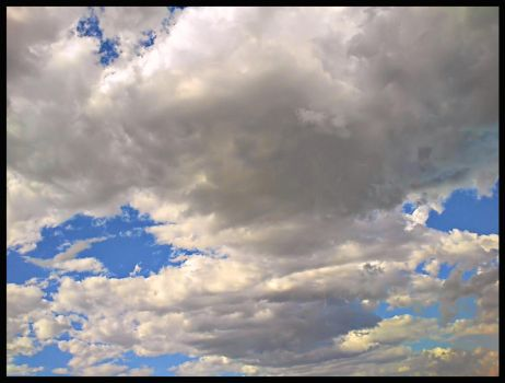 Cotton wool in the sky by Jareth-Barnowl