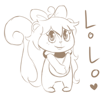 HTF Squirrel for Lolo by BaronOfEvil