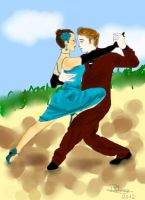 Ley's Tango, My Love! by krm3dayana