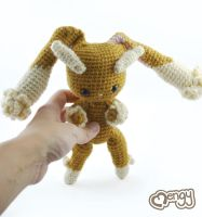 Lopunny Pokemon Amigurumi by mengymenagerie