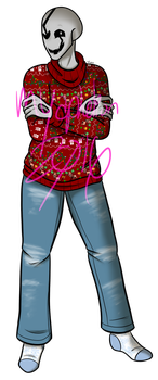 Commission - Christmas Sweater! by LordBlumiere