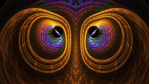Owl on Fract by MichelLalonde