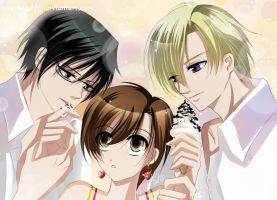 Ouran High School Host Club by SnowLady7