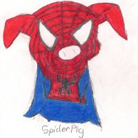 Spiderpig Spiderpig by Kari-ChanXP