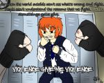 ANIMATION (link in desc.) Violence In The Halls by AskPrinceAnarchy