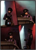 Cosplay contest Purple guy - Fnaf cosplay by AlicexLiddell