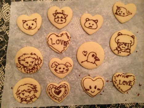 Sugar Love Cookies by HazelAlmonds