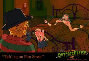 Tickling on Elm Street ~ by Bohemianne by CeeAyBee